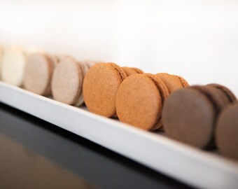 Gourmet French Macaron, Edible Gift Basket, Gift Basket - 2 dozens