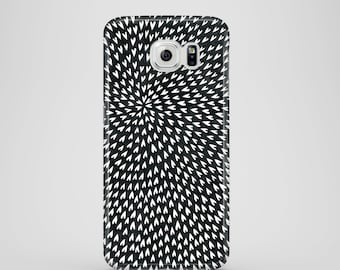 B&W Hearts phone case / monochrome phone case / Samsung Galaxy S7, Samsung Galaxy S6, Samsung Galaxy S6 Edge, Samsung Galaxy S5 / abstract