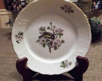 Rare Vintage ROYAL COPENHAGEN Garden Song (#1533) China *Bread & Butter Plate; 2 available*