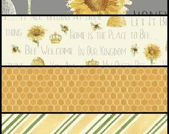 Bee My Sunshine Fabric Bundle, Windham Fabric, Bee Fabric, Choose Your Bundle Size