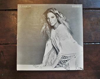 Barbra Streisand Classical 33 LP Record Album