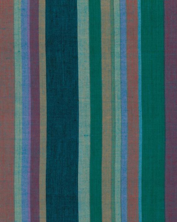 ROMAN STRIPE Woven  DUSK  wromanx.duskx by Kaffe Fassett fabric sold in 1/2 yard increments