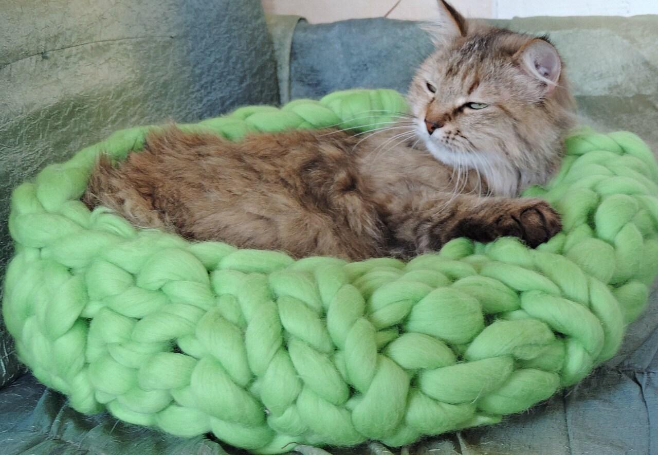 Cat cave Cat Bed Pet bed Pet cave Pet Bedding Chunky Cat