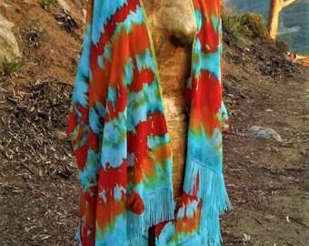 Kimono, Up Cycled,  Fairy, Surf Wear, Boudoir, Hippie, Boho, Beach Cover Up, Lounge Wear, One of a Kind