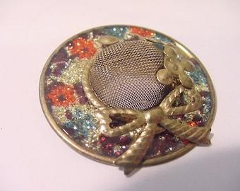 Vintage Ladies Hat Brooch  11 - 1257