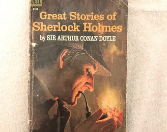 Small Vintage Soft Cover Sherlock Holmes Book