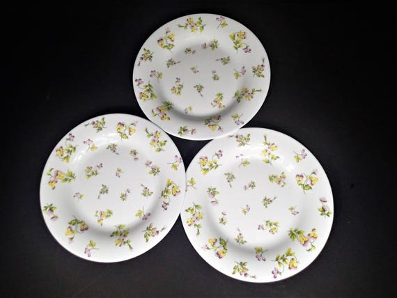 & Milk Glass Salad plates Martha Stewart Everyday Yellow and