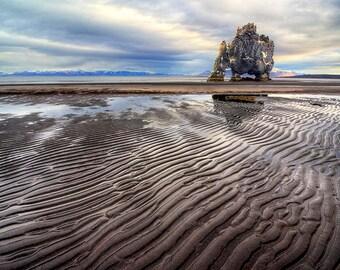 Dinosaur Rock Gulf of Hunafloui Northwest Iceland | Dinosaur Rock Picture | Iceland Landscape