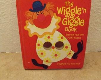 Hallmark The Wiggle'n Giggle Book Finger Book