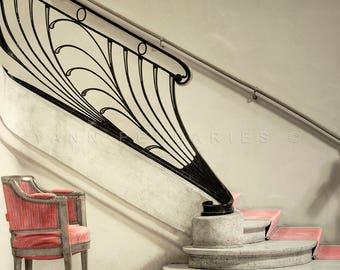 Home theater decor, Paris photography, Fine Art Photography, home decor, Home theater art, Home theater, Theater decor, Art nouveau