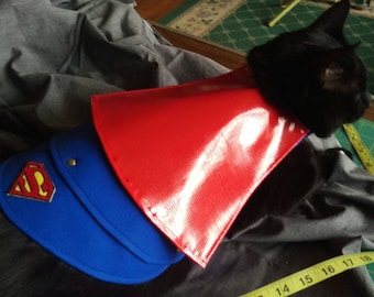 Superman Pet Costume by Battle Cat Armor Cosplay