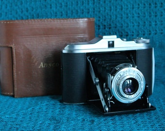 Ansco Speedex 45 Folder 120 camera