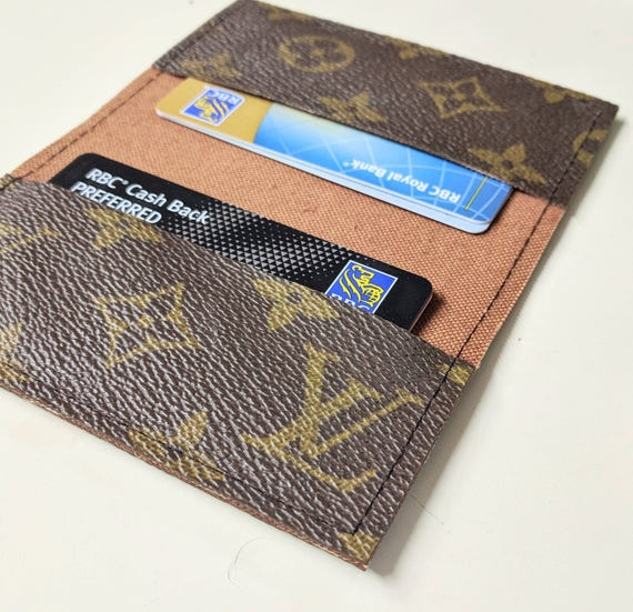 Lv business card holder repurposedlouis vuitton small like this item reheart Gallery