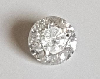 0.25ct SI Round Brilliant Cut Diamond F-G