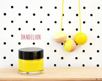 Wood Paint  - Dandelion - 15ml jar - 10 Beautiful Colours Available.