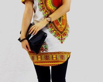 beautiful tunic Dashiki print fabric