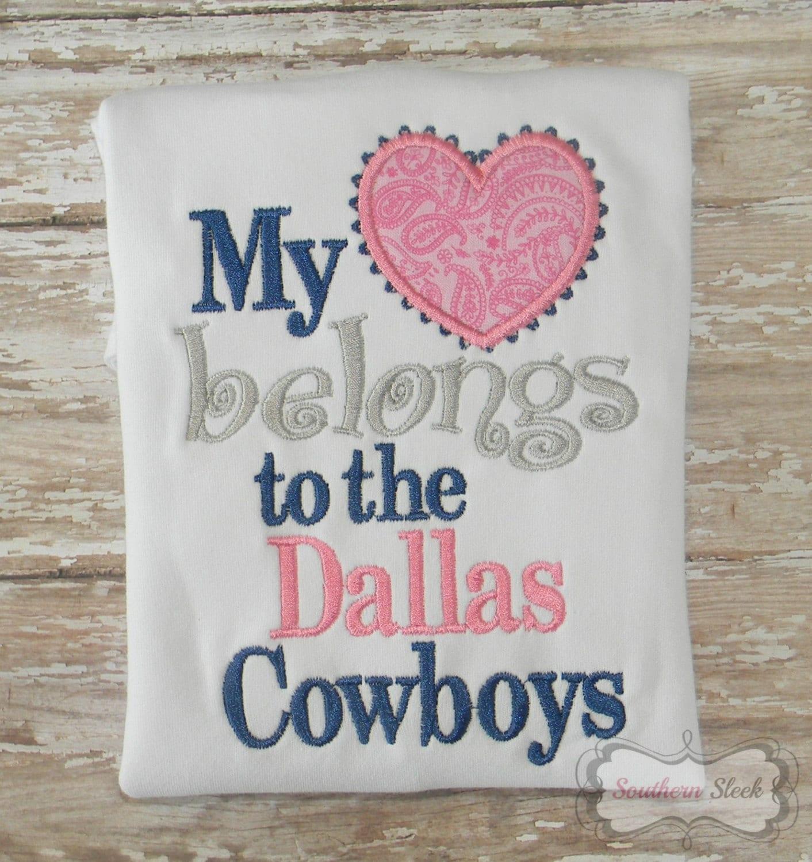Dallas cowboys shirt my heart belongs to the dallas cowboys zoom kristyandbryce Choice Image