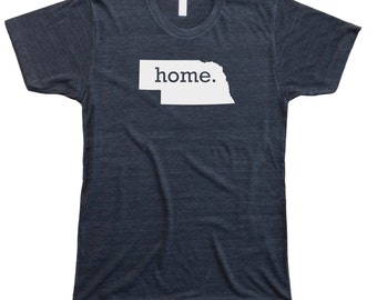 Homeland Tees Men's Nebraska Home T-Shirt