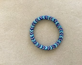 "7 & 1/4"" Crescent Moons Bracelet."