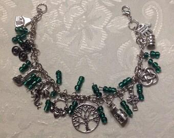 St. Patrick's Day Charm Bracelet (style A)