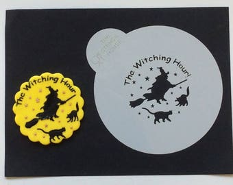 The Witching Hour Cookie Stencil