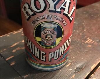 Vintage Royal Baking Powder tin
