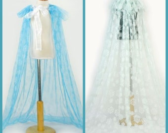 Frozen inspired cape