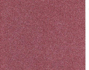 Rose Glitter Card A4 soft touch low shed 1 sheet