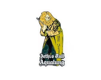 Jethro Tull 'Aqualung' Enamel Pin