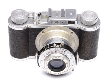 Wirgin Edinex I Camera with Prontor-S & Edinar 50mm f/2.8 Lens c. 1951