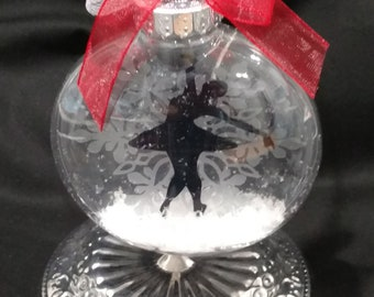 Ballerina Floating Ornament / Personalized