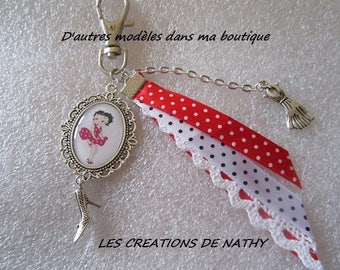 """Handbag cabochon """"Betty"""" ribbons and lace dresses and shoe charms"""