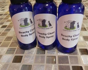 Beachy Clean Body Spray