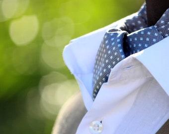 Mens Ascot Mens Cravat Woven Silk Day Cravat Reversible Ascot Tie A025