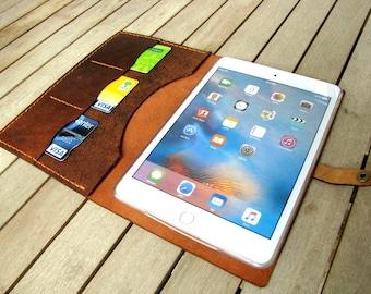 iPad mini,1-2-3-4, iPad Air 2, iPad 10.5, iPad 9,7 2017, iPad case, iPad leather case,iPad leather holder,iPad leather wallet