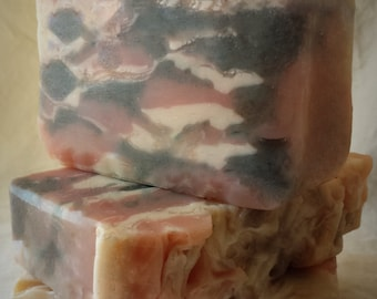 Herbal Swirl Soap, Skin Softening Soap