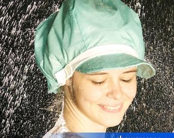 Shower Caps - Sunny Day Blue - Shower Hat for MEN & WOMEN