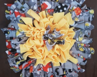 "Snuffle Rug - ""Yellow Puppies"""