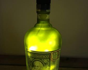 Diplomatico Rum Fairy Light Lamp