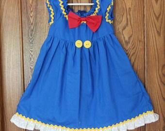Donald Duck Inspired Dress