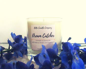 Lavender and Chamomile Scented Soy Candle