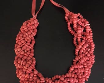 Hand made necklace from Mexico
