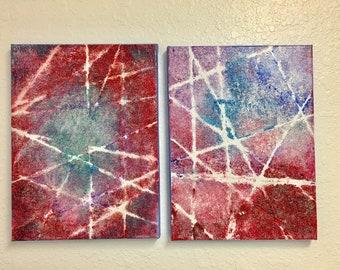 Wall Art Acrylics and Glitter