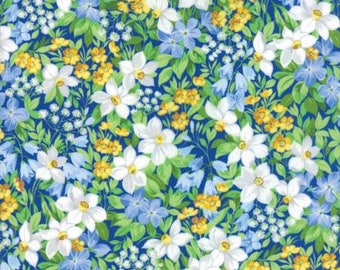 Summer Breeze V - 33300-14 Royal - Quilting Fabric from Moda