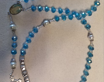 Personalized Crystal Rosary