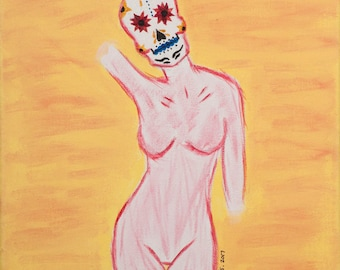 Gentlewoman. 8x10 Art Print.