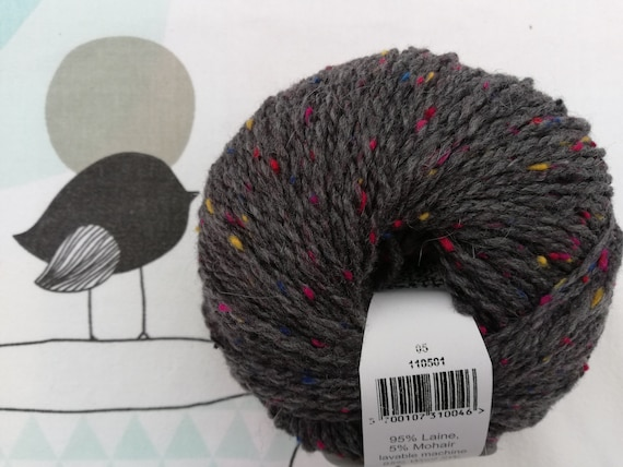 GREAT TWEED Anthracite - Fonty
