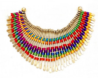 multiline company brand gold plated  new luxuries necklace