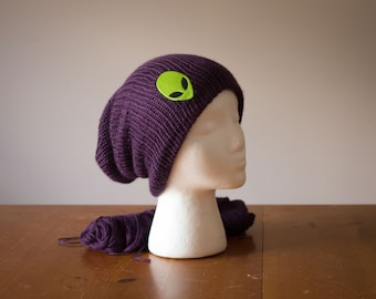 Alien Beanie - 48 colors available – Slouchy Beanie – Women Beanie – Mens Beanie – Winter Accessories – Gift for Him – Gift for Her
