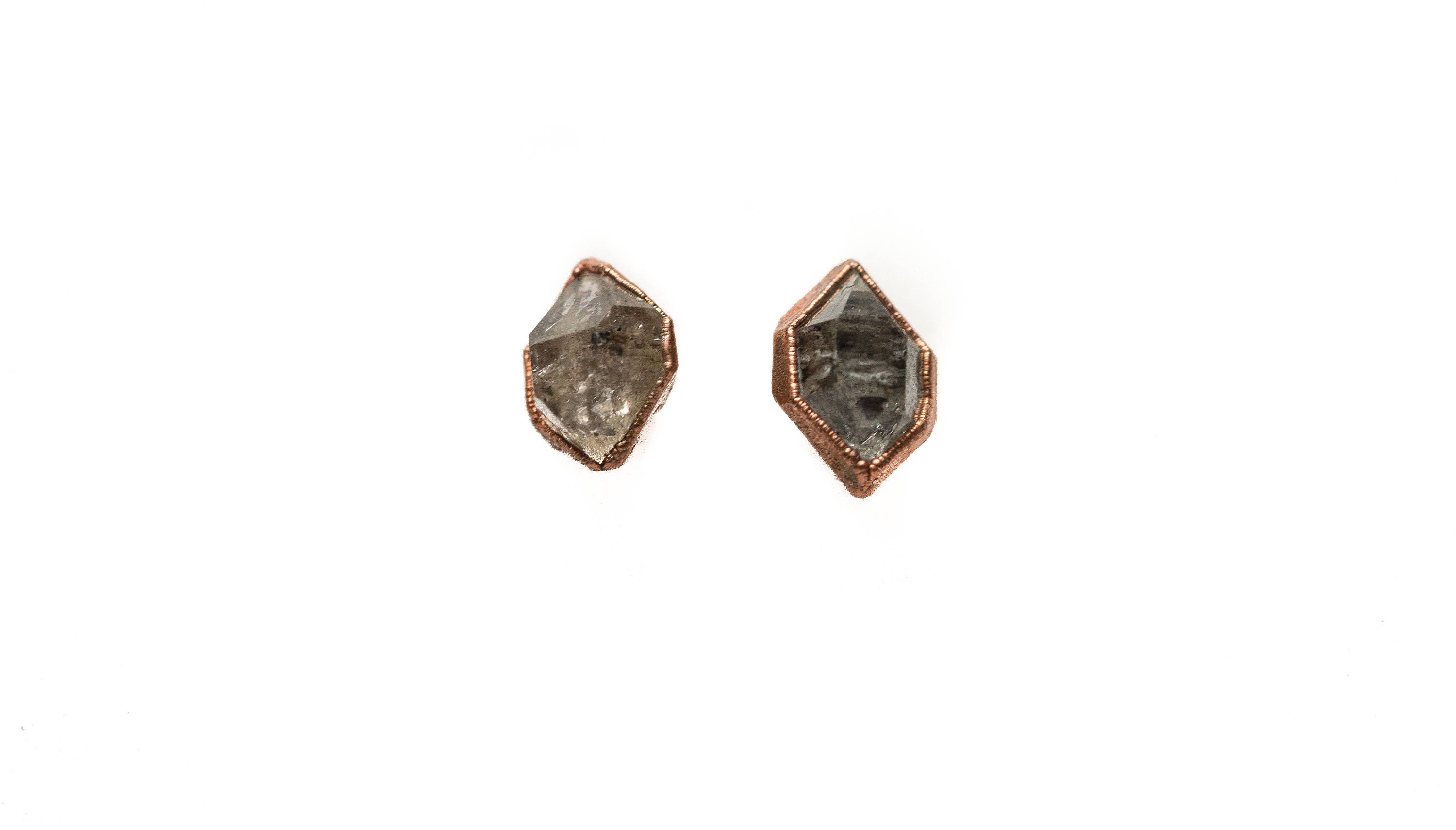 jewelry twin gallery kawakita lyst and satomi earrings pearl brown in gold diamond stud